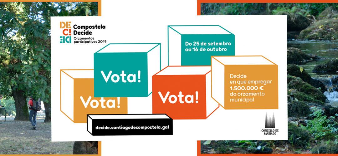 Río Sarela presenta tres propostas aos orzamentos participativos do Concellos: É o momento de votar