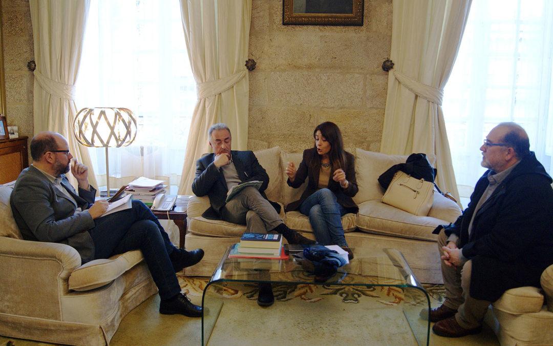 O presidente de Río Sarela pídelle ao alcalde solucións para o tráfico no barrio